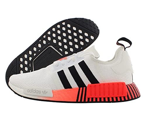 adidas Originals NMD_R1, Zapatillas Deportivas. Hombre, Color Blanco y Negro, 36 2/3 EU