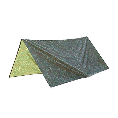 Bâche Abri Etanche pour Camping Randonnée - Camouflage
