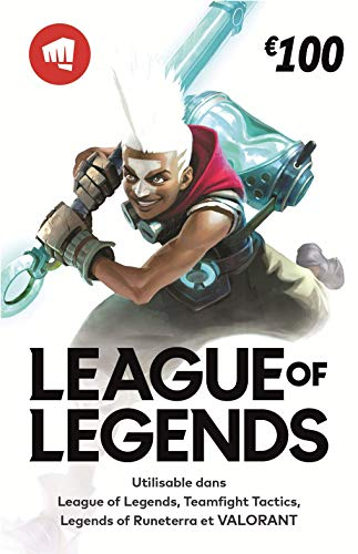 League of Legends €100 Carte-cadeau prépayée (15000 Riot Points)
