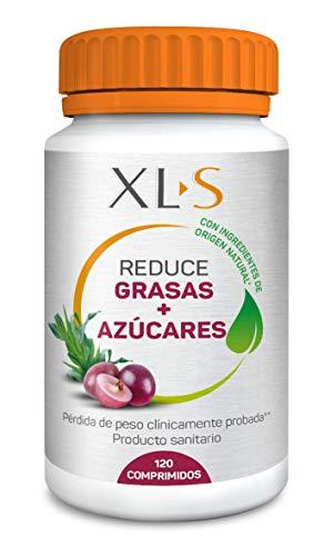 XLS Pierde Peso Plus | Reduce Grasas y Azúcares | Con ingredientes naturales que permiten disminuir la absorción de grasas y carbohidratos | Para adelgazar de forma saludable | 120 Uds