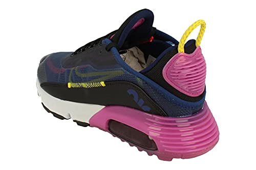 Nike Zapatillas de running para mujer, azul (Azul aspiradora/cromo amarillo-negro), 36.5 EU