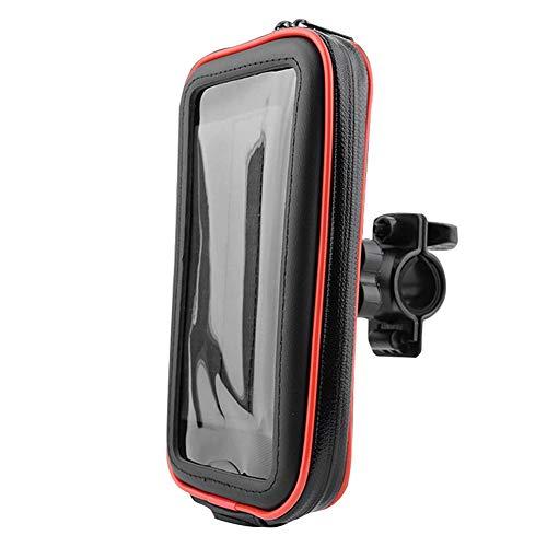 Yippel Universele Bike Phone Mount Life Waterdichte Telefoon Houder Opbergtas voor Fiets Motorfiets Stuur