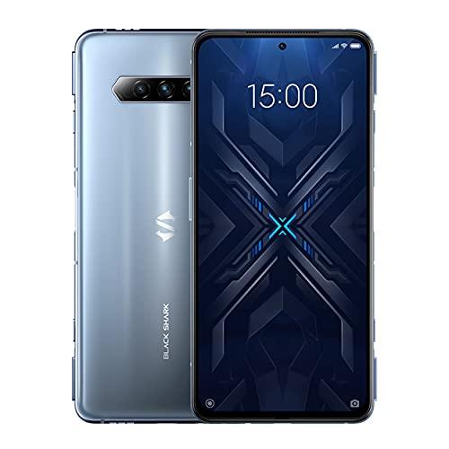 "Black Shark 4 [5G] - Smartphone 8+128GB, Pantalla 144Hz 6,67"", Snapdragon 870, 48MP Triple Cámara, Batería 4500mAh, LPDDR5 RAM + UFS3.1 Storage Gris (Versión Global)"
