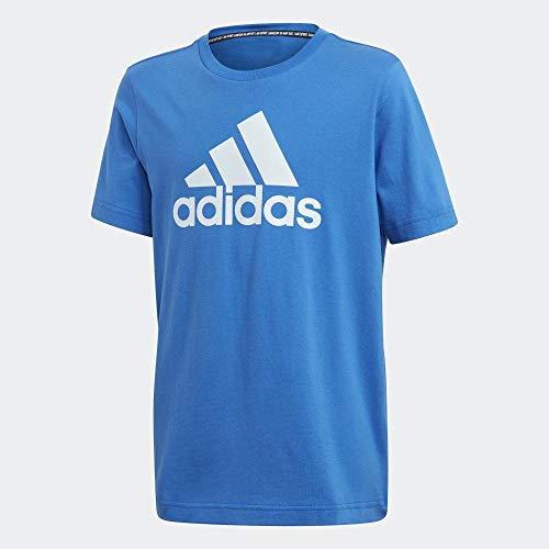 adidas Yb Mh Bos T T-Shirt, Kinder, Blau/Matcie, 140 (9/10 Jahre)