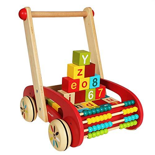 CHAOLIU Enfant en Bas âge et Trotteur Activité 2 en 1 de Tiny Steps - Jouets et activités Amusants pour Bébé, Fille ou garçon, Cadeau d'anniversaire pour 6, 9, 12, 18 Mois, 1 Ans, 2 Ans
