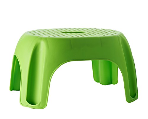 RIDDER Assistent A1102605 Schemel, Tritt, Kinder-Hocker, Eco, grün
