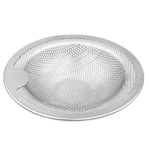 Andexi ユニットバス用 ゴミ受け ヘアキャッチャー 排水口 ゴミ受け 7.6-10cm お風呂 ステンレス バスルーム用 抗菌 ゴミカゴ 排水フィルター ゴミこし 適用サイズ:直径76~100mm