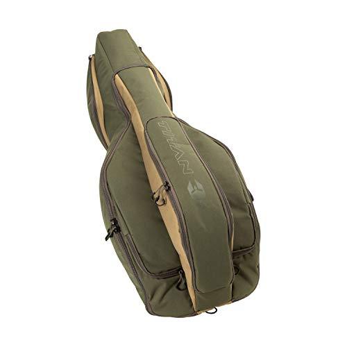 Titan Copperhead Crossbow Case, 14 W x 37 L x 12 H in, Fits Narrow Limb (Ravin, Tenp. Shadow NXT / Turbo M1 / Titan M1, Mission Sub-1, Centerp. CP 400, Killer Instinct Fur. 9.5), Olive/Tan