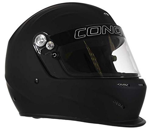 marvel motorcycle helmets Conquer Snell SA2020 Aerodynamic Vented Full Face Auto Racing Helmet