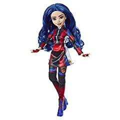 EVIE FROM DISNEY'S DESCENDANTS 3: In Disney's Descendants 3, Evie is determined to give all VKs a chance at happiness in Auradon FASHION DOLL WITH ACCESSORIES: This Evie figure includes doll, stylish outfit, and boots for fashion play fun DISNEY'S DE...