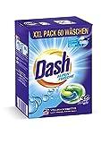 Dash® Alpen Frische 3 in 1 Caps XXL-Sparpack I 60 Waschladungen I Waschmittel-Caps für weiße...