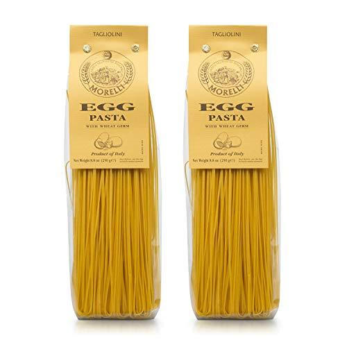 Pastificio Morelli Egg Tagliolini Pasta - Imported from Italy (pack of 2)