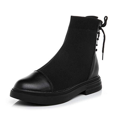Shukun enkellaarsjes Martin laarzen kinderen lente en herfst damesschoenen kleine laarzen korte sokken korte laarzen