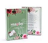 Snaplay I 65 Fotoaufgaben für die Hochzeit I Hochzeits-Spiel I Hochzeitsgeschenk I Geschenkidee für das Brautpaar