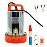 NiceDD DC 12V Submersible Water Pump Stainless Water Pump 125W Farm & Ranch Solar Water Pump