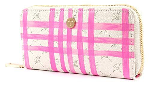 Joop! Damen Cortina Cheque Melete Purse Lh15z Geldbörse, Pink (Pink), 1x9x19 cm