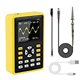 MakerFocus Digital Oscilloscope Handheld Portable Mini Oscilloscope 5012H with 2.4' 320240 LCD Display Screen 100MHz Bandwidth and 500MS/s Sampling Rate for Electronics DIY and Equipment Debugging