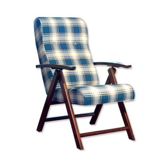 Molisana - Tumbona de madera, con 4 posiciones ajustables, para salón, cocina - Maslegno 380106