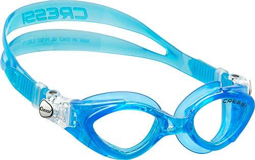 Cressi Kinder Schwimmbrille King Crab, blu light, One size, DE202263