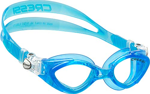 Cressi Kinder Schwimmbrille King Crab, blu light, One size, DE202263