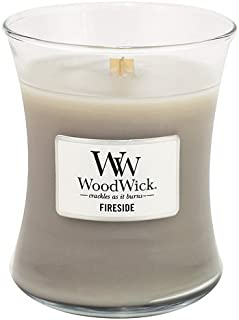 WoodWick Candle Fireside Medium Jar