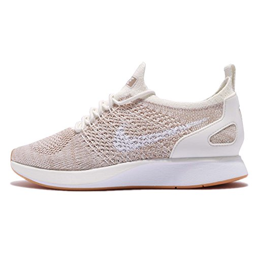 Nike Air Zoom Mariah Flyknit Racer Womens's Shoe Sail/White/Gum aa0521-100 (9 B(M) US)
