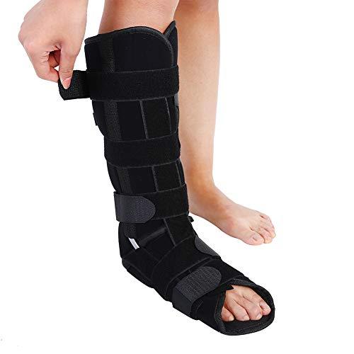 Fijador de fractura de tobillo, adulto Pierna de fijación de protección Médica Soporte de tobillo ajustable Pierna de soporte de pierna Tobillera(S)