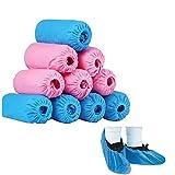 Tian Shan Shan Cubiertas de Zapatos Desechables de Tela no Tejida de 100 Piezas para la Limpieza de la casa Alfombra de enfermería Protección del Piso.