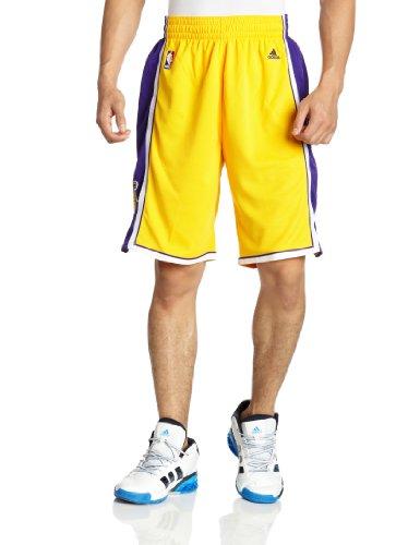 Adidas Swingman Pantaloncini Lakers Giallo - XL