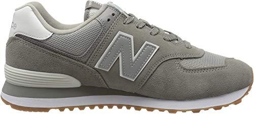 New Balance Herren 574v2 Sneaker, Grau (Grey Spu), 45 EU