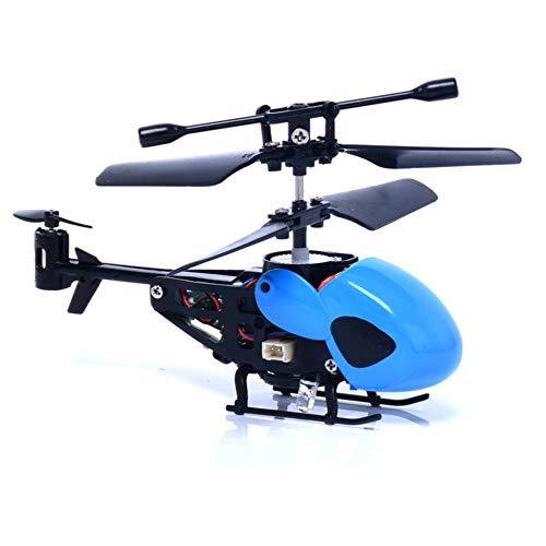 IBISHITAOXUNBAIHUOD QS5010 3.5CH RC infrarrojo Micro Aviones no tripulados Las aeronaves con giroscopio helicóptero teledirigido Juguetes Mini RC QS Cabeza -Round