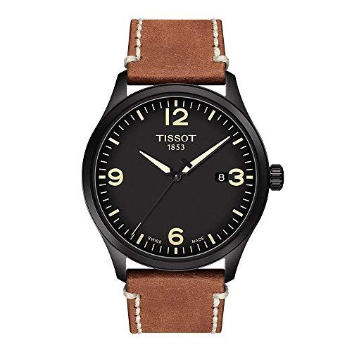 Tissot Reloj Analógico para Hombre de Cuarzo con Correa en Cuero T1164103605700