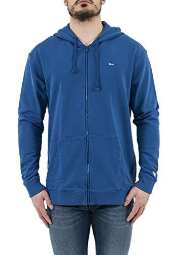 Tommy Jeans Sweatjacke dm0dm06107 blau, Blau - blau - Größe: XX-Large