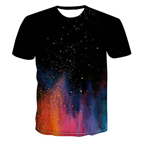 SSBZYES Camiseta De Verano para Hombre, Camiseta De Gran Tamaño para Hombre, Camiseta De Cuello Redondo, Camiseta Informal De Moda Estampada, Camiseta De Verano para Hombre