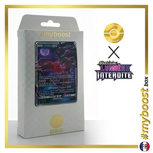 Yveltal-GX 79/131 - #myboost X Soleil & Lune 6 Lumière Interdite - Coffret de 10 Cartes Pokémon Françaises