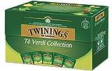 Twinings Tè Verde Collection - Confezione Speciale 5 diversi Tè Verdi: Pure Green Tea, Tè Verde Zenzero, Tè Verde al Limone, Tè Verde Earl Grey, Tè Verde Moringa e Litchi (2 Boxes)