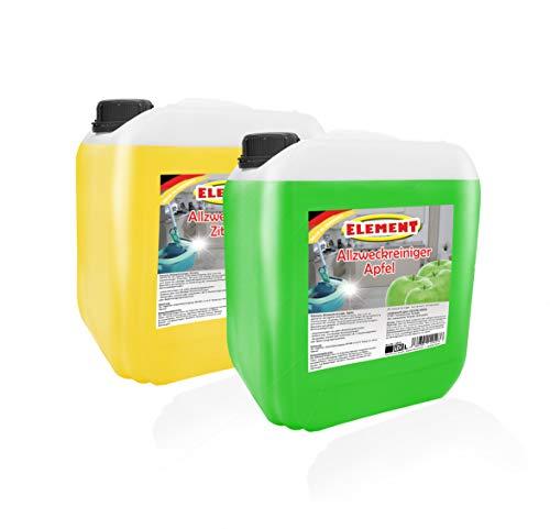 Allzweckreiniger Zitro & Apfel 20 Liter Konzentrat Bodenreiniger Universal Reiniger Allzweckreiniger Kraftreiniger