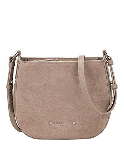 LIEBESKIND BERLIN Vintage Crossbody Bag S Umhängetasche Tasche Cold Grey Braun