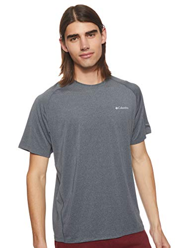 Columbia Men's Tuk Mountain Short Sleeve Shirt, UPF Sun Protection, Moisture Wicking Fabric