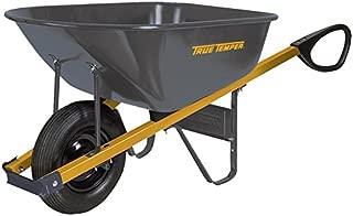 The Ames Companies, Inc R6TC14 True Temper Total Control Steel Wheelbarrow, 6 Cubic Foot
