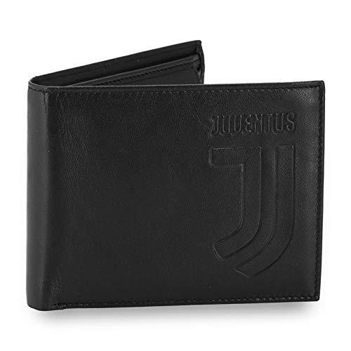 Cartera hombre de piel Juventus JJ negro accesorios aficionados PS 06377