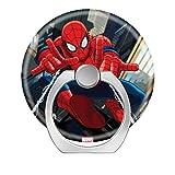 Cargot Anneau de support de téléphone intelligent auto-adhésif en forme de cœur rotatif à 360° pour tablettes et téléphone Motif Spiderman
