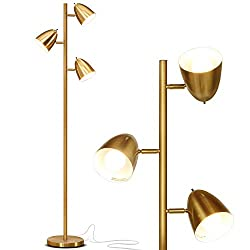 Brightech Jacob - LED Reading and Floor Lamp for Living Rooms