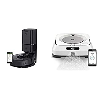 iRobot Roomba i7+ (7550) Robot Vacuum with Automatic Dirt Disposal- Wi-Fi Connected, Smart Mapping, Works with Alexa, Ideal for Pet Hair, Carpets, Hard Floors (B07VGB2Z62) | Amazon price tracker / tracking, Amazon price history charts, Amazon price watches, Amazon price drop alerts