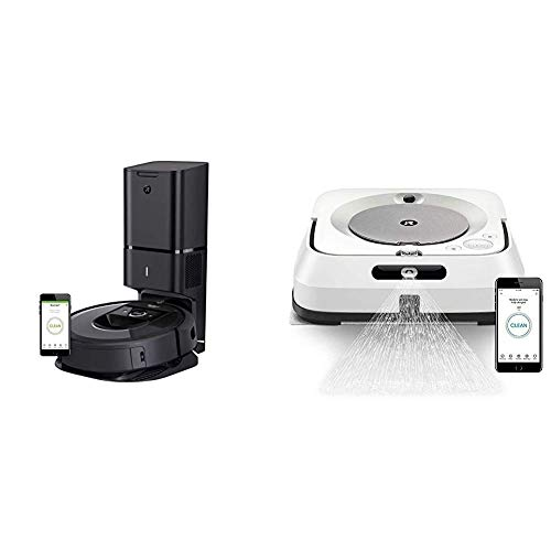 Why Should You Buy iRobot Roomba i7+ (7550) Robot Vacuum with Automatic Dirt Disposal- Wi-Fi Connect...