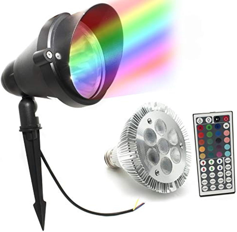 LED-Erdspie für Gartenpflanzen, rgbw 7 W, 8 W, 12 W, E27, IP66 RGB