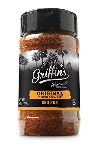 Sniffin Griffins All Purpose Rub - All American Seasoning Mix, Dry Beef Rub Perfect for Smoking, Grilling, Cooking (Original - Poultry & Seafood, 5oz)