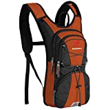 SHARKMOUTH FLYHIKER Hiking Hydration Backpack Pack with 2.5L BPA Free Water Bladder, Lightweight and...