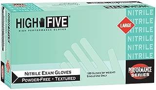 High Five E-Grip Max L922 Series L92 Latex Exam Glove Case of 10 High Five Products Medium