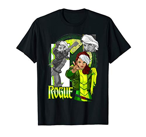 Marvel X-Men Rogue Collage Panel Logo T-Shirt